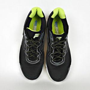 Fila Indus Mens Sneakers 12 CoolMax Black Shoes